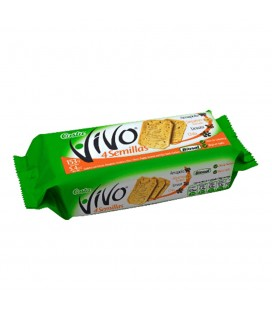 Galletas VIVO 4 semillas